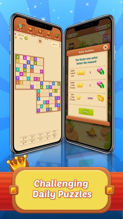 Sudoku Quest Color Soduku Game screenshot-4
