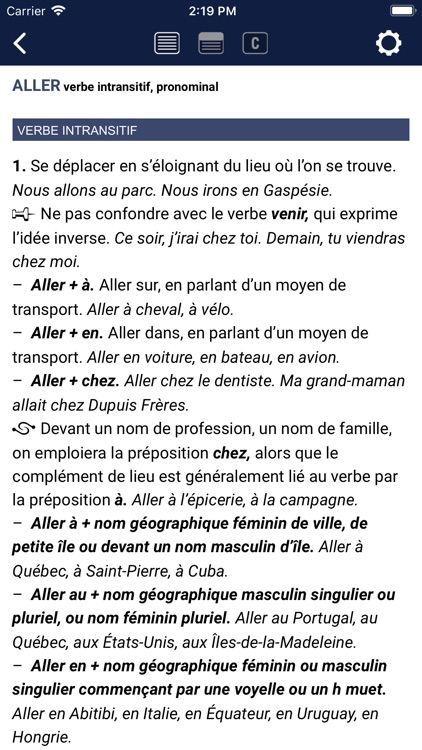 Multidictionnaire screenshot-1