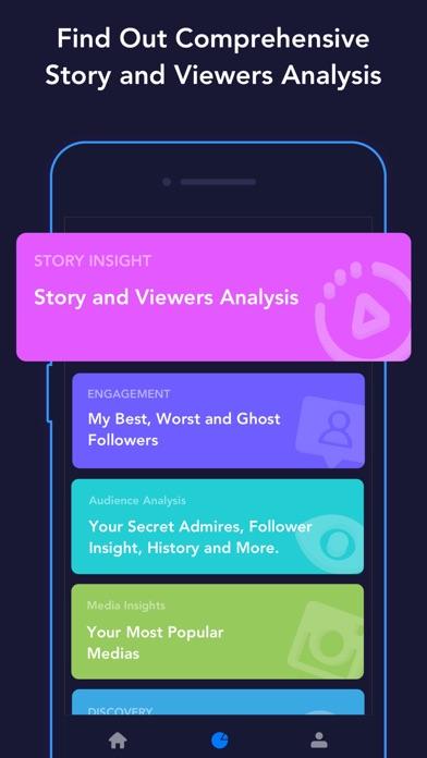 Followers Tracker - Ins Report Screenshot