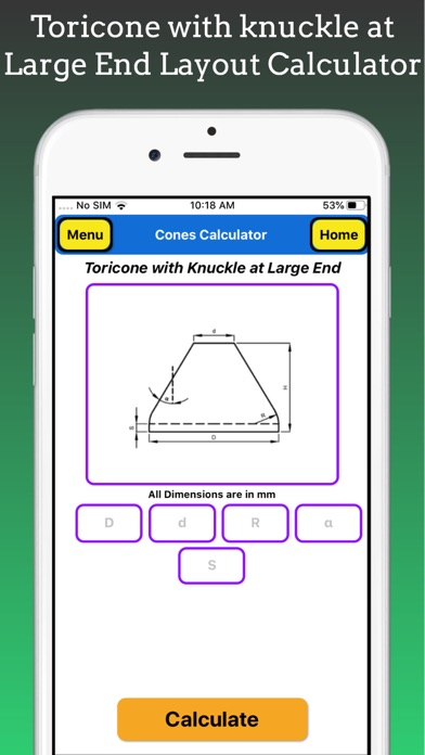 Cones Calculator Pro screenshot 9