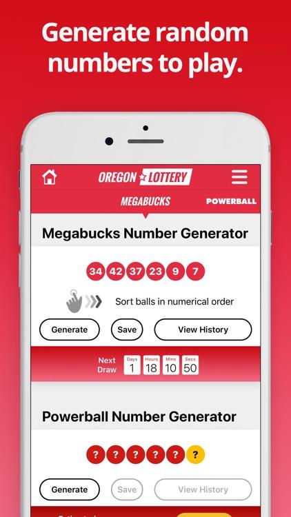 Oregon Lottery Numbers screenshot-3