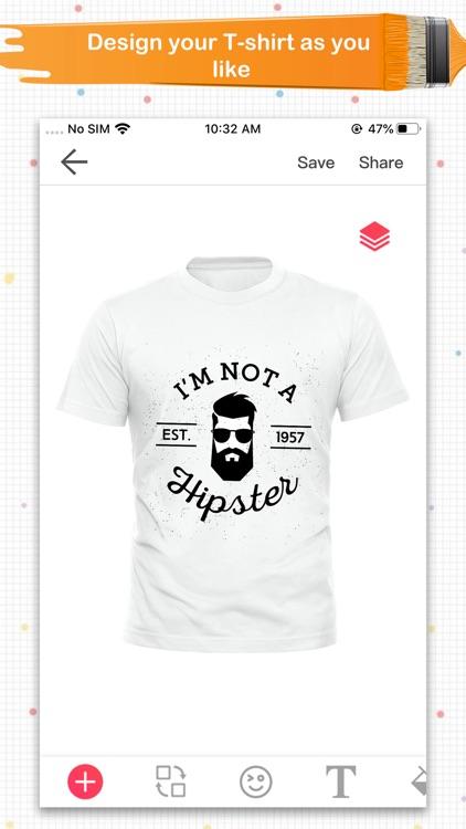 Super T-Shirt Designer screenshot-6
