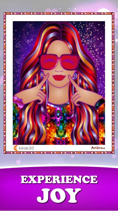 AntiStress Adult Coloring Book Screenshot