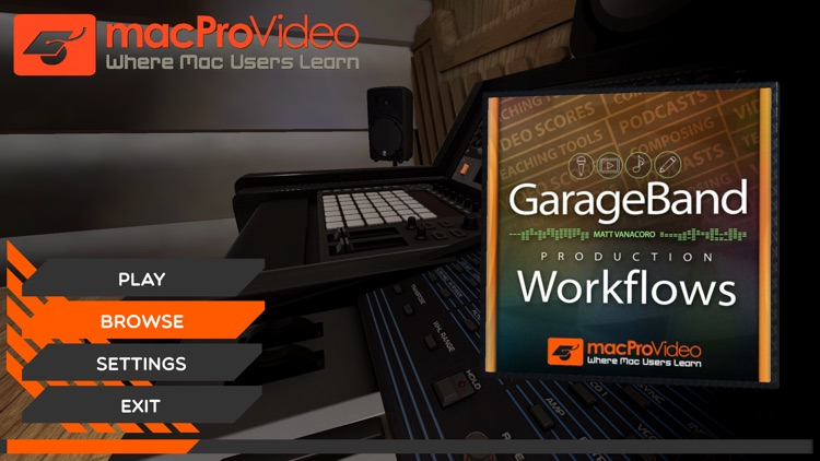 Workflows Course on Garageband screenshot-0