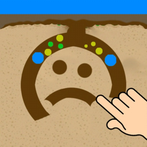 sand Balls : Dig your way it!