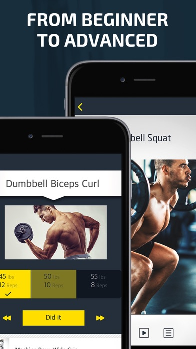 Download Workout: Gym tracker & planner for Pc