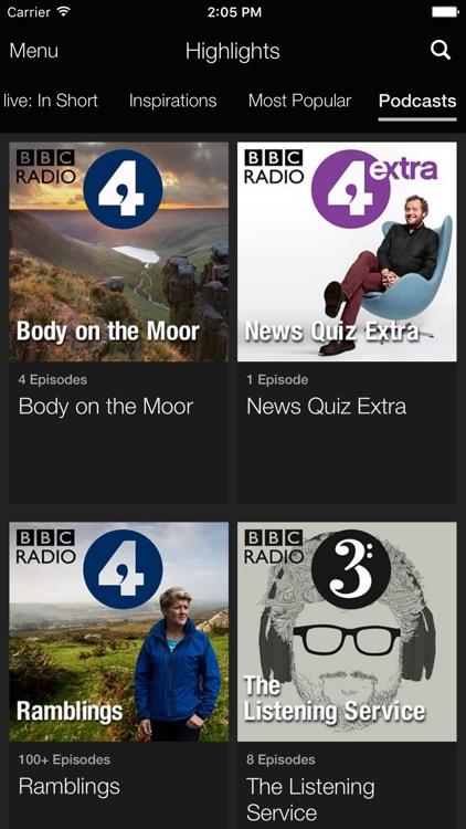 BBC iPlayer Radio screenshot-4