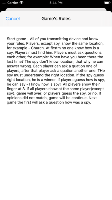 GameOfSpyer screenshot 3
