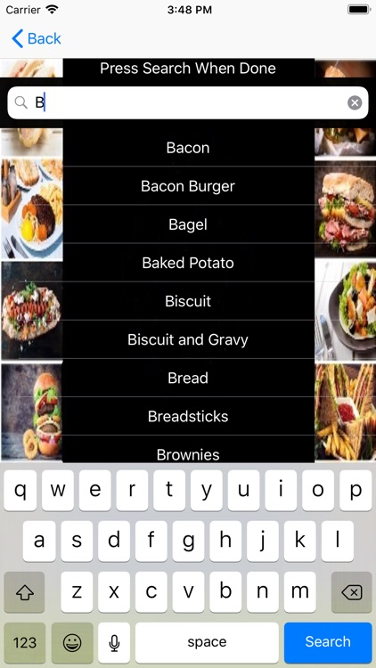 Appetite- Find Nearby Food