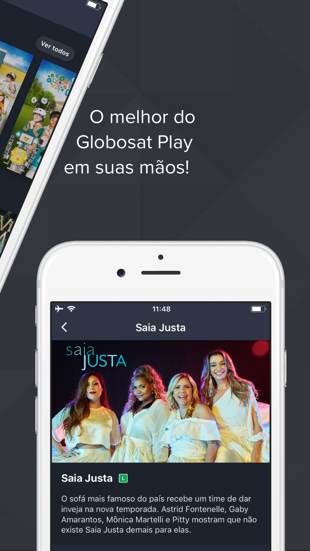Screenshot do app Globosat Play