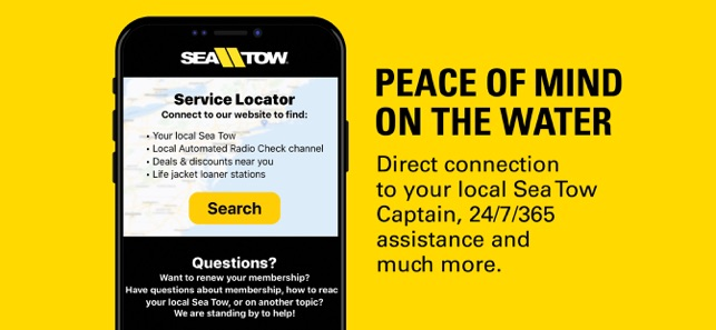 Sea Tow On The App Store