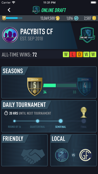 Screenshot for PACYBITS FUT 19 in Philippines App Store