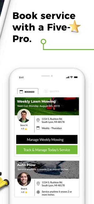 LawnGuru- Lawn, Snow & Garden on the App Store