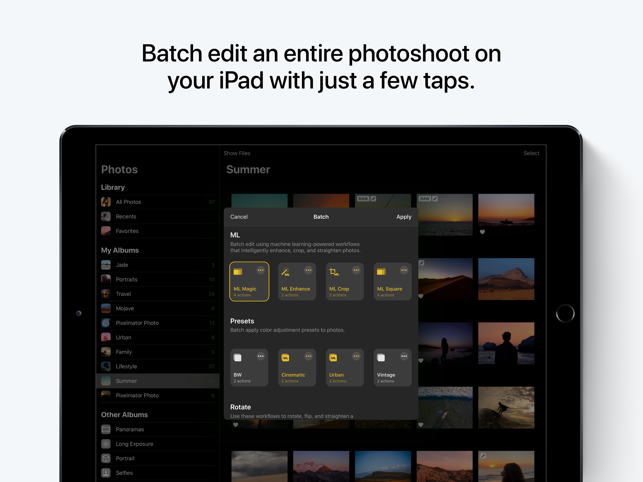 ‎Pixelmator Photo Screenshot