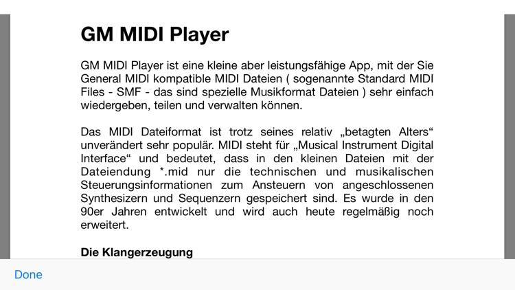 GM MIDI Player screenshot-7
