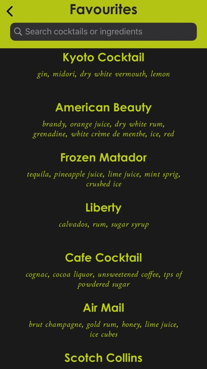 Cocktail Manual screenshot-7