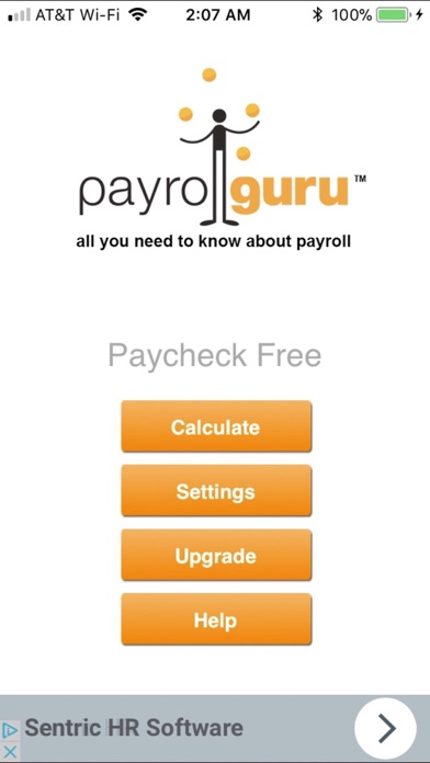 Paycheck Lite : Mobile Payroll screenshot one