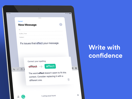 Grammarly - Writing Assistantのおすすめ画像1