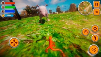 Lizard Life Survival Simulator screenshot one