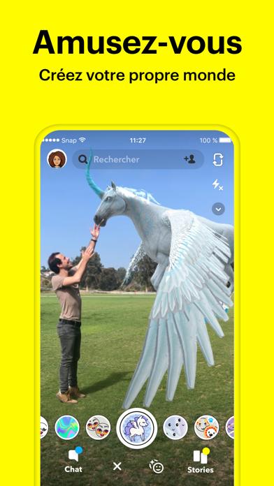 Snapchat sur pc