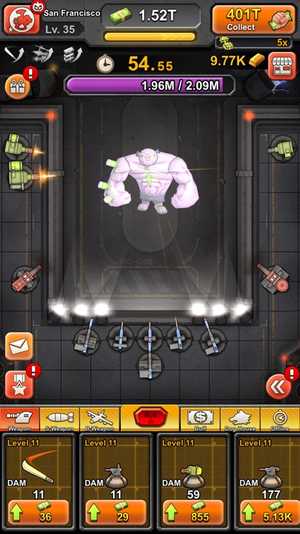 Idle Zombies screenshot-3