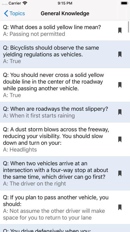 Kansas DMV Test Prep screenshot-6