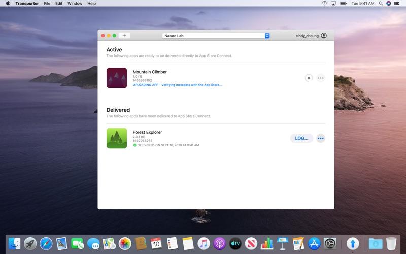 Transporter screenshot 4