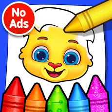 ‎Coloring Games: Painting, Glow