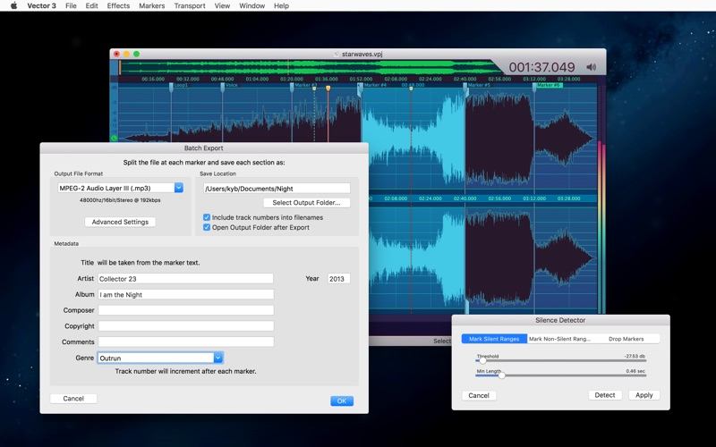 Vector 3 - Record & Edit Audio Screenshot 7