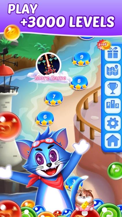 Tomcat Pop: Bubble Shooter screenshot-3