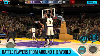 NBA 2K Mobile Basketball Screenshot