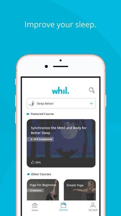 Whil: Mindfulness & Meditation screenshot-8