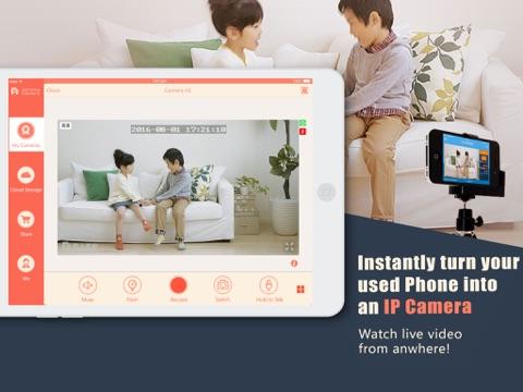 Screenshot of AtHome Camera -remote connect