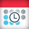 App Icon for WorkTime: Work Shift Calendar App in Denmark IOS App Store