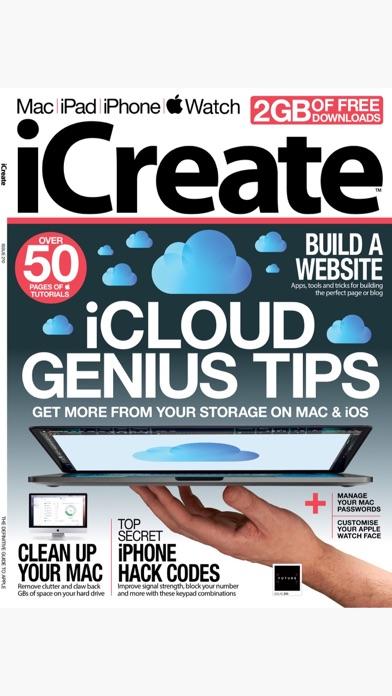 iCreate - Magazine screenshot one