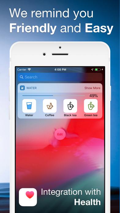 Water Balance Tracker Screenshots