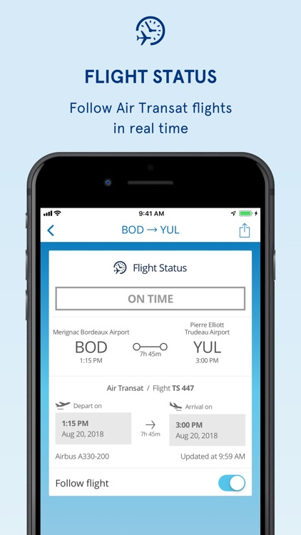 Air Transat screenshot-1