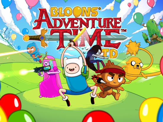 Bloons Adventure Time TD iPad app afbeelding 7