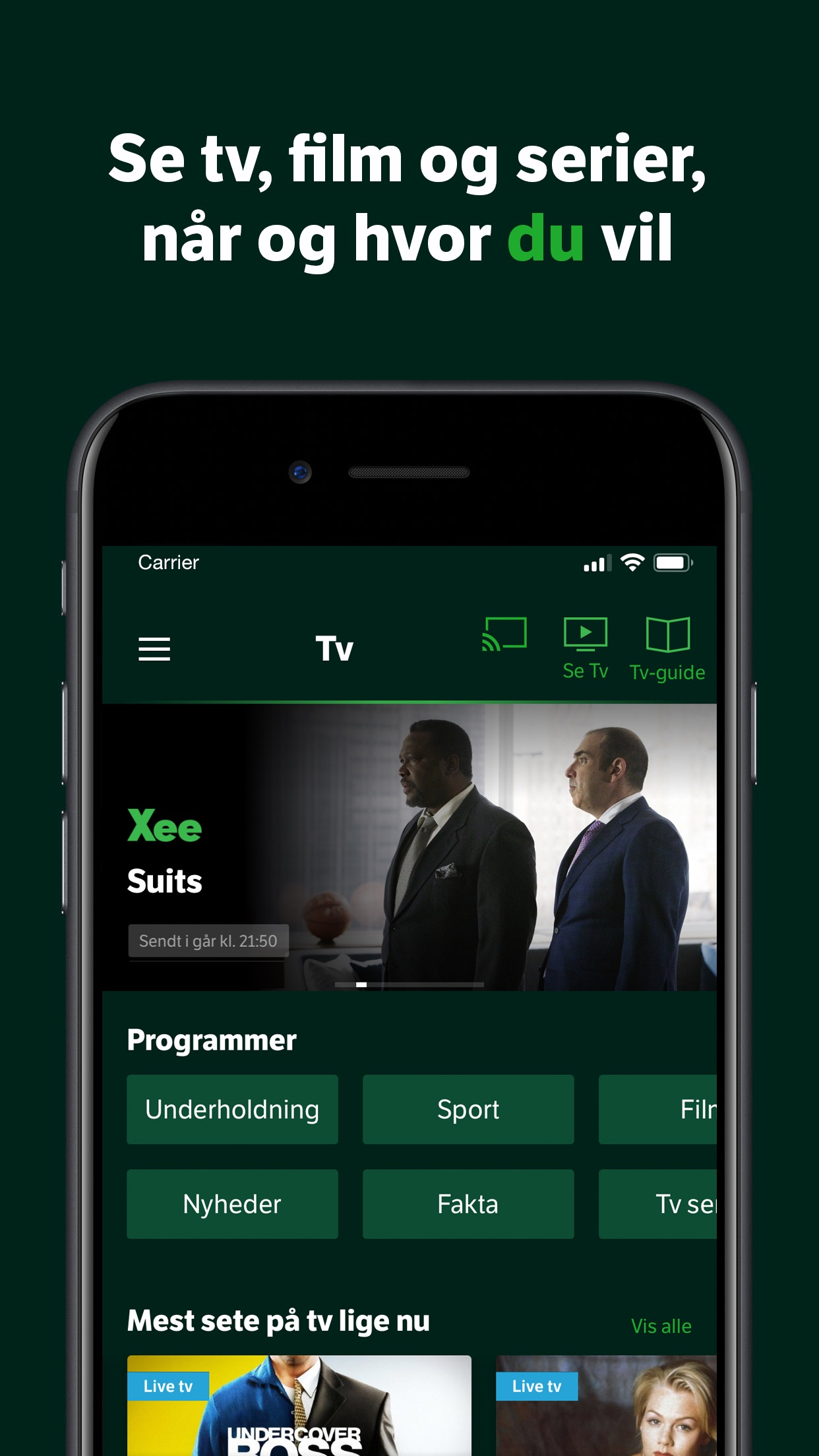 YouSee Tv & Film Screenshot