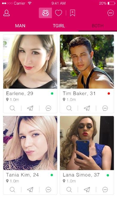 Screenshot for Travmaga #1 Trans Dating in Jordan App Store