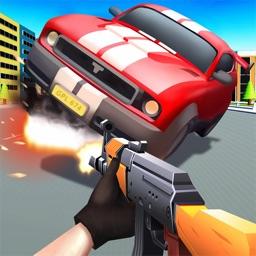 Shooting Escape Road-Gun Games