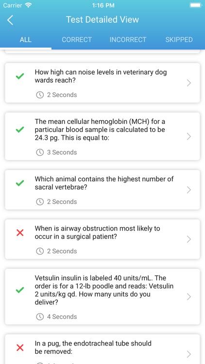 VTNE Veterinary Technician screenshot-4