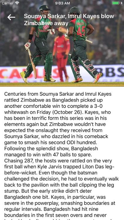 Cricket Live Scores World screenshot-4