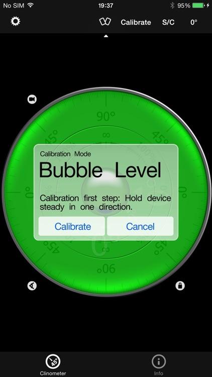Clinometer + bubble level screenshot-3