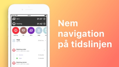 Screenshot for Baby Tracker & Amning in Denmark App Store