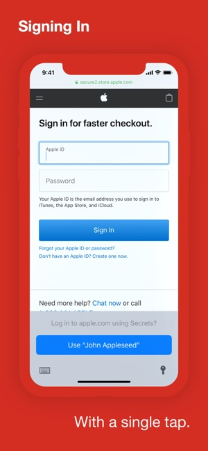 Secrets   Password Manager on the App Store