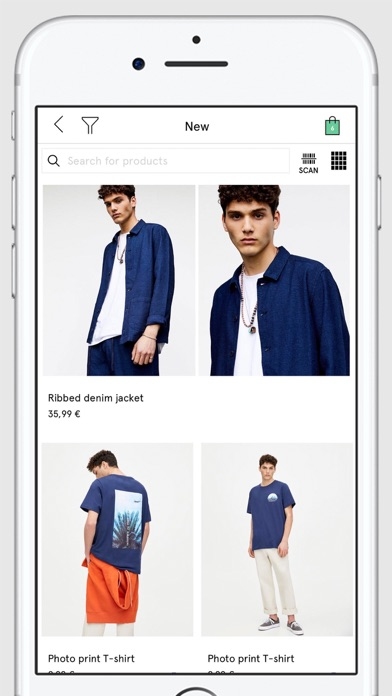 Screenshot for PULL&BEAR in Czech Republic App Store