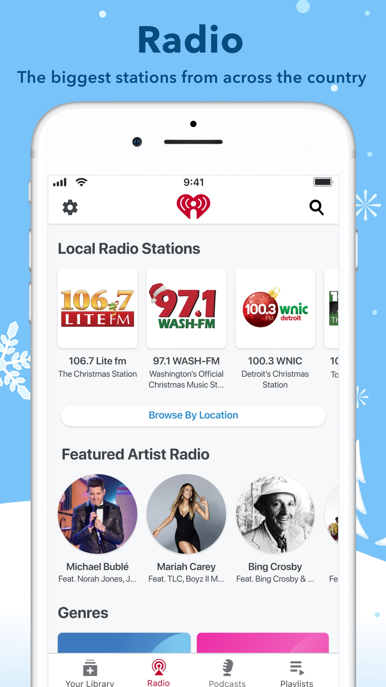 iHeartRadio - Radio & Podcasts Screenshot