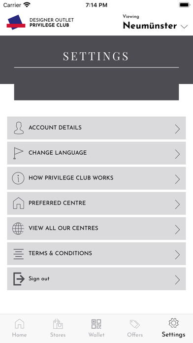 messages.download McArthurGlen Privilege Club software