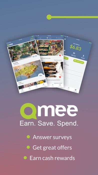 Qmee Surveys by Qmee (iOS, United States) - SearchMan App